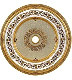 Elegant Lighting MD212D43FG Medallion, French Gold, 43'' by 43'' by 43''