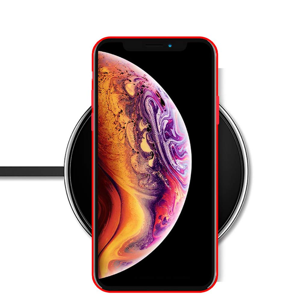 iPhone XS Silikon Handyh/ülle Schutzh/ülle Bumper Case Schutz Tasche vor Sto/ßfest//Scratch Schale Cover f/ür iPhone X//Xs Bakicey iPhone X H/ülle iPhone XS H/ülle