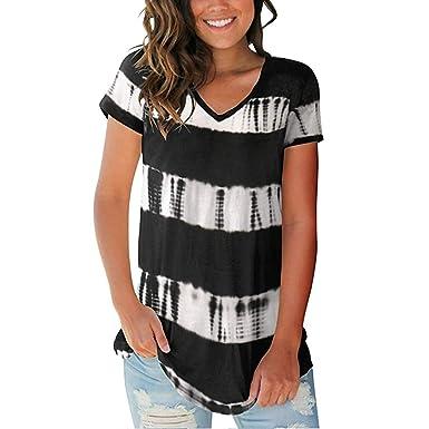 BASACA - Camiseta de Manga Corta para Mujer y niña Negro 40 ...