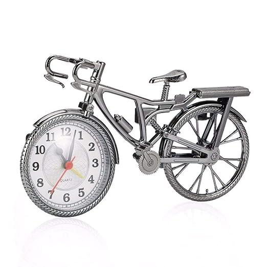 Sinzong Reloj Despertador Reloj De Alarma De Bicicleta Retro Reloj ...