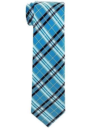 Elegante corbata de cuadros a cuadros para niño - 8-10 años ...
