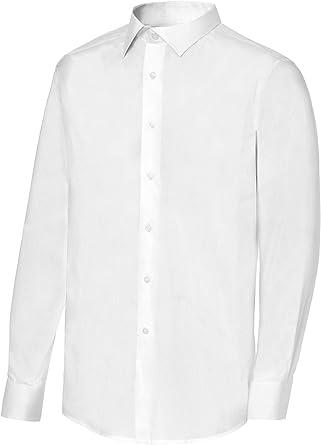 Camisa de Camarero Manga Larga Cuello Italiano Hombre. Ropa Camarero/Hosteleria Ref: 2141: Amazon.es: Ropa y accesorios