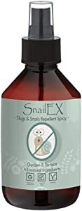 Slugs and Snail Repellent Spray by SNAILEX | 250 ml | Ultimate Guard against for garden and terrace | Made with essential ingredients such as castor oil | Alternative to ultrasonic pest killers