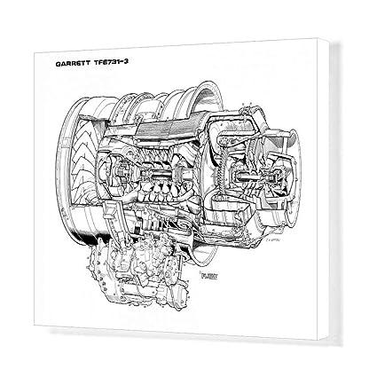 Amazon com: Media Storehouse 20x16 Canvas Print of Garrett