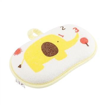【Paquete de 5】 Cepillo de Baño de Algodón para Bebés Patrón de Elefante Lindo Esponja de Fregar Cepillo de Ducha Toalla de Baño Accesorio de ...