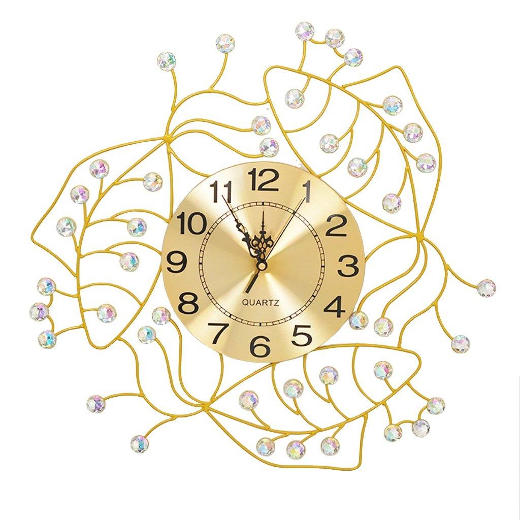 ALUPヨーロッパの壁時計リビングルームのシンプルな大規模な装飾ミュートクォーツ時計 B07F3LHNST