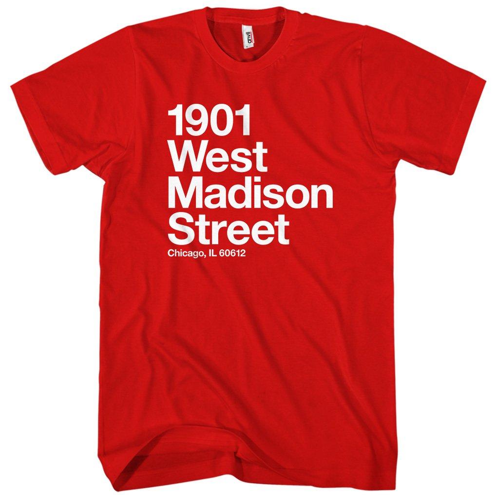 S Chicago Basketball And Hockey Stadium Tshirt