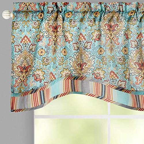 - Traditions By Waverly Scalloped Window Valance, 52