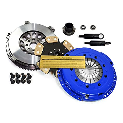 Amazon.com: EFT STAGE 4 CLUTCH KIT & LIGHTWEIGHT FLYWHEEL 92-95 BMW 325 325i 325is M50 E36: Automotive