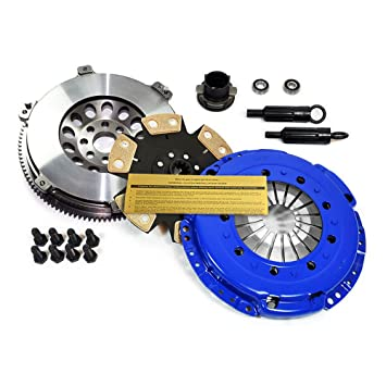 EFT etapa 4 Kit de embrague y ligero volante 92 - 95 BMW 325 325i 325is M50 E36: Amazon.es: Coche y moto