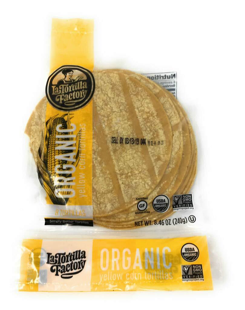 Amazon.com : La Tortilla Factory Traditional Flour Organic