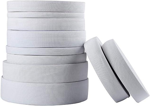 NoBrand 2 m/ètres Plat Bande /élastique Couture v/êtements Accessoires en Nylon Sangle v/êtement Accessoires de Couture Largeur 1.5 cm 2 cm 2.5 cm 3 cm 4 cm 5 cm