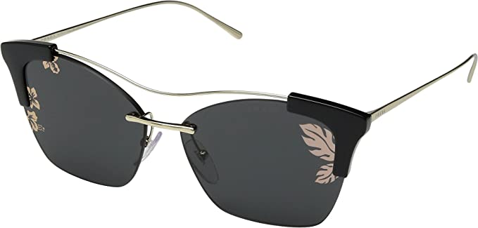 Prada Gafas de Sol FULL METAL TEMPLE EVOLUTION PR 21US BLACK ...