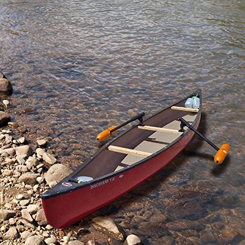 Canoe Outriggers / Stabilizers w/ ORANGE FLOATS by Inspired By Nature