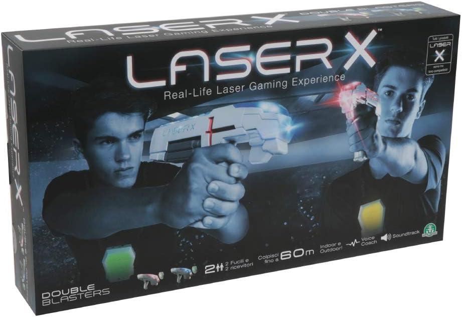 LASER x 88016 Doppio Pack 2-Set di gioco Giocatore