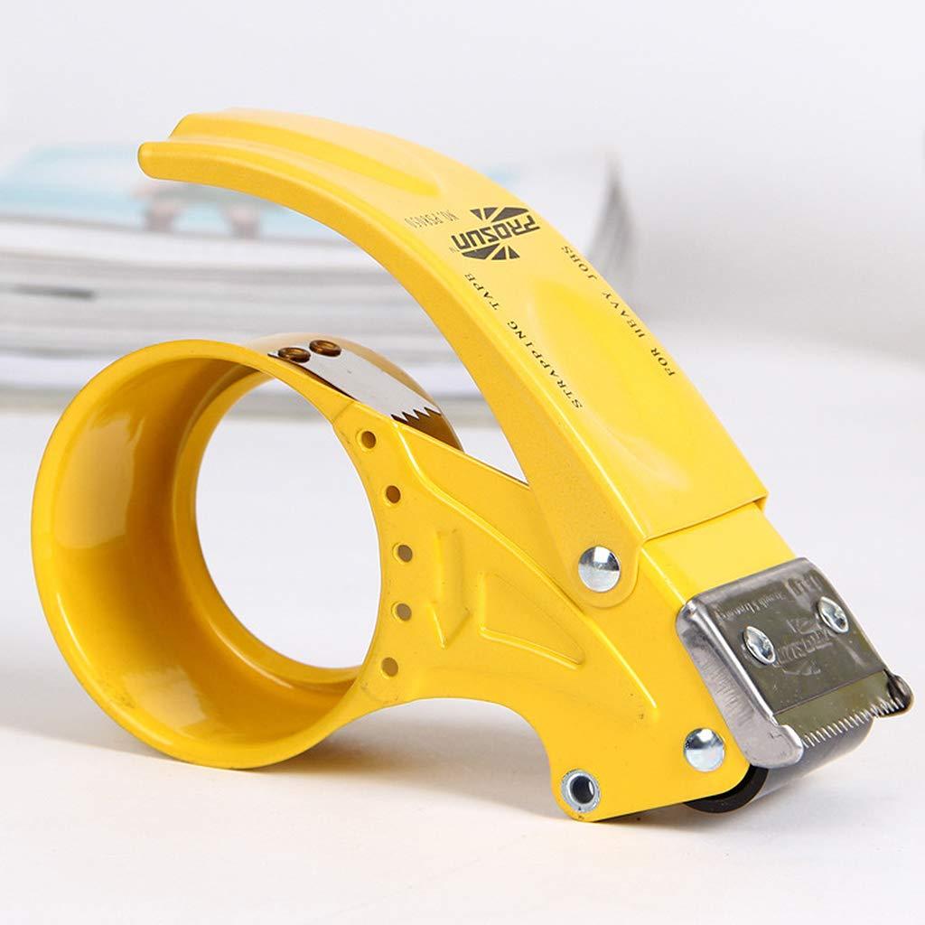 Folewr-8 Imperm/éable Coupe-bande,D/évidoir de Ruban en Acier Inoxydable pour Ruban de 48mm,Couleur Al/éatoire