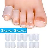 Sumifun Protectores de gel para dedos de los