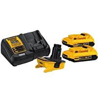 Deals on DEWALT 18v to 20v Adapter Kit DCA2203C
