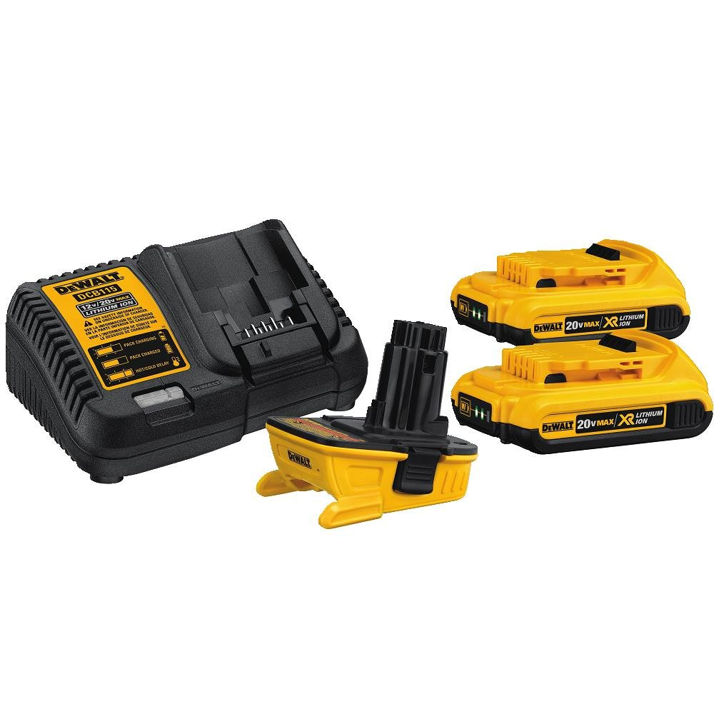 DEWALT DCA2203C 20-Volt MAX Battery Adapter Kit for 18-Volt Tools by DEWALT