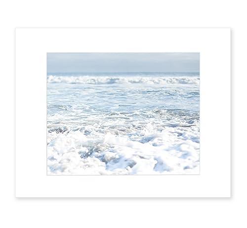 Nautical Series Incoming Pier Ocean Wave 8x10 Print