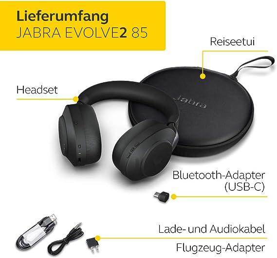 Jabra Evolve2 85 Wireless Headset Elektronik