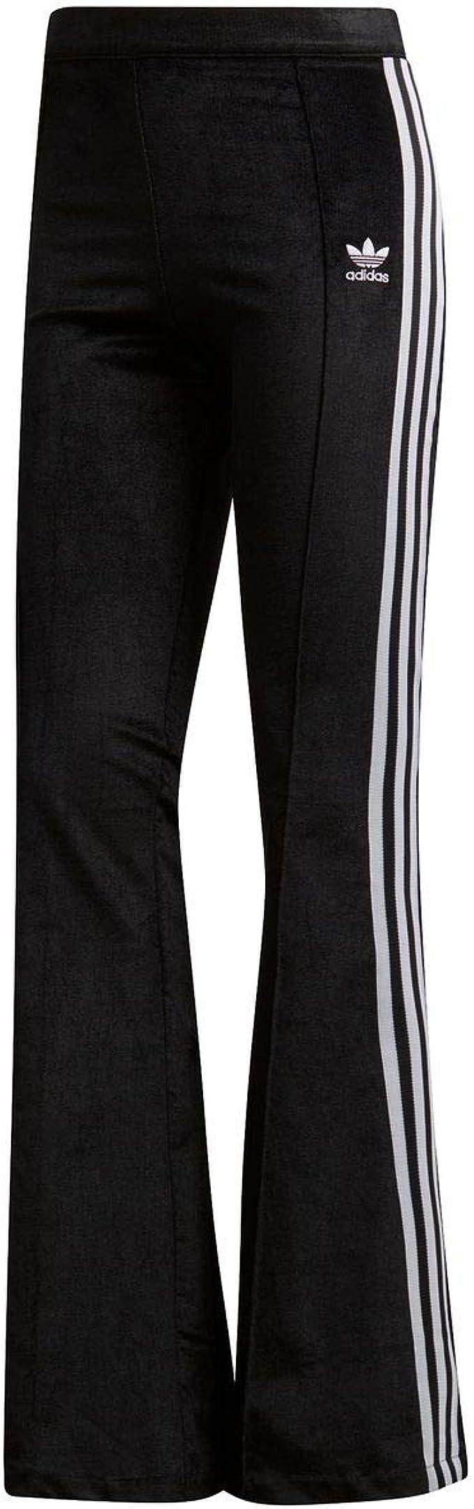 pantaloni a zampa donna adidas