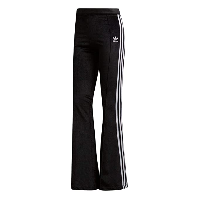 adidas Pantalones Flared TP Negro 32 XS (X-Small): Amazon.es ...