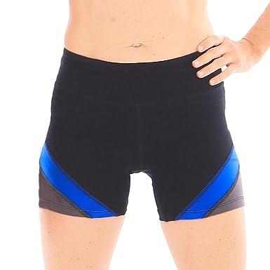 e014e80a0f Amazon.com: Hyde Women's Organic Cotton Premium Quality Activewear Yoga  Short Leggings. Maximum Stretch Flexibility.: Clothing