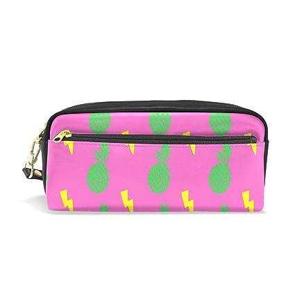 BONIPE - Estuche para lápices de piña, color rosa, bolsa ...