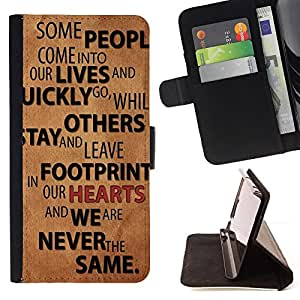 DEVIL CASE - FOR Samsung Galaxy S5 Mini, SM-G800 - Relationships People Quote Love Life Change - Style PU Leather Case Wallet Flip Stand Flap Closure Cover