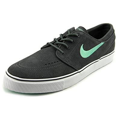 Nike Zoom Stefan Janoski Skate Shoe - Men's Dark Grey/Medium Mint, ...