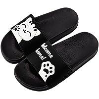 👀Slippers Pantoufles l'été Femme honestyi Femmes Hommes Unisexes Chaussons Panda Pantoufles Chaussures de Plage à Sandales Tongs Pantoufles Chaussures
