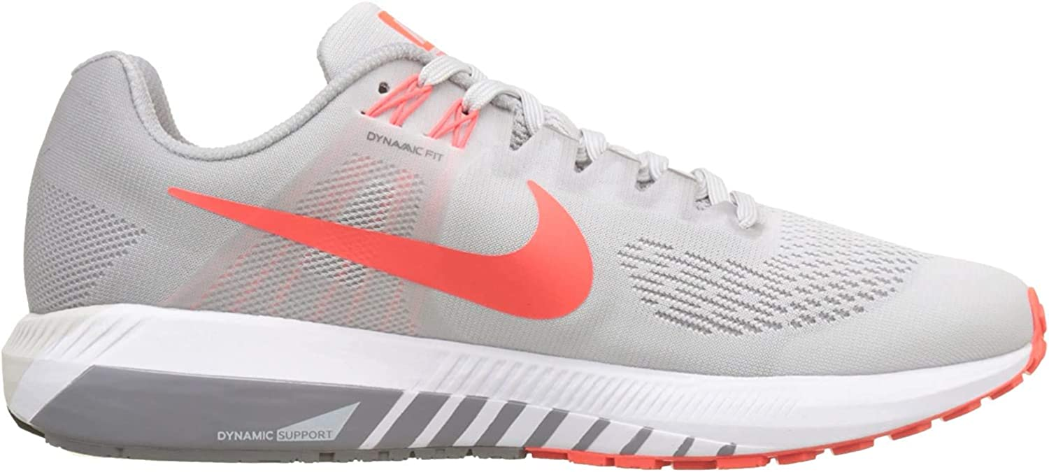Nike Air Zoom Structure 21, Zapatillas de Running para Hombre, Negro (Vast Grey/Bright Crimson/Atmosphere Grey 006), 44 EU: Amazon.es: Zapatos y complementos