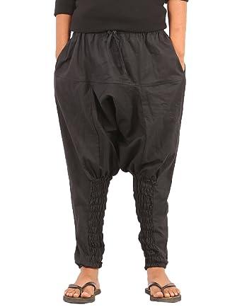 d7ee1f644 Amazon.com: The Harem Studio Kids Harem Cotton Drop Crotch Pants (L ...