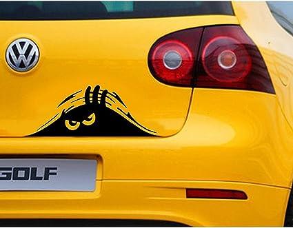 18 Styles Funny Peeking 3D Eyes For Car Bumper Window Wall Vinyl Decal Sticker