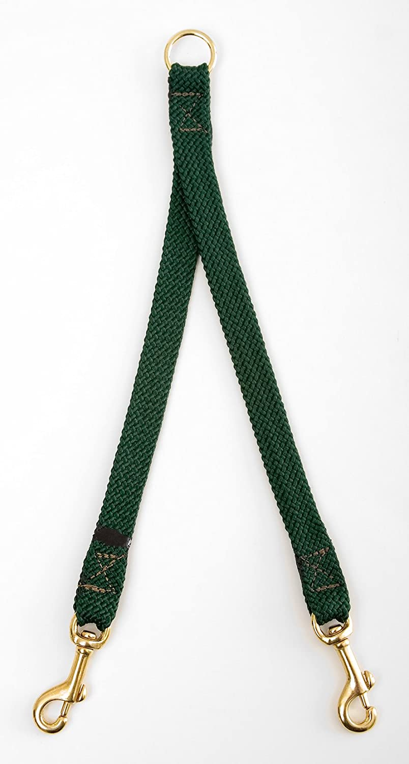 Green Small Green Small Mendota 9 16-Inch by 24-Inch Breed Coupler for 2-Dogs, Small, Green