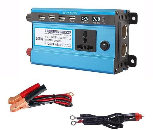 2200W Inversor corriente para automóvil DC 12V a AC 220V ...