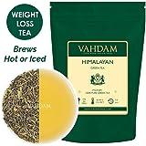 Grüne Tee Blätter aus dem Himalaya (50 Tassen) - Detox, Reinigungs & Abnehm Tee - starke natürliche Antioxidantien, 100% Reiner Grüner Tee von den hoch gelegenen Plantagen in Darjeeling, Loose Leaf (lose Blätter) Tee, Verpackt in Indien, Green Tea, 100g