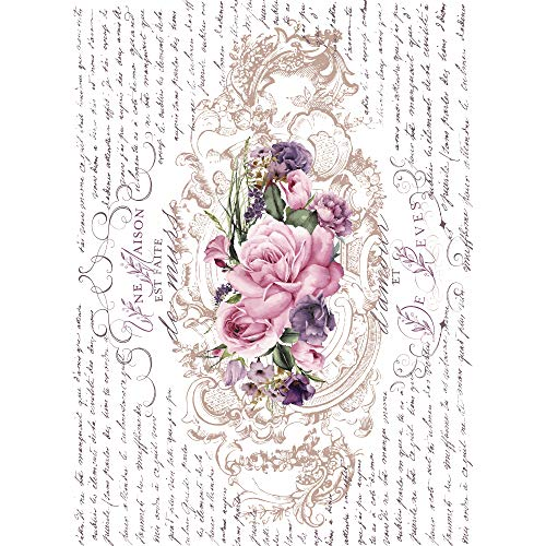 Maisie & Willow Floral Poems, 16x23 inches, Mixed (Furniture Willow)