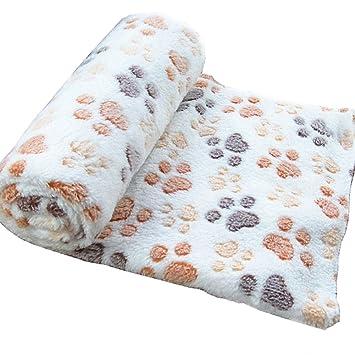 Wicemoon - Manta Para Perro, Manta Cálida Y Gruesa, Muy Suave Y Esponjosa, Manta Para Perro, Gato O Cachorro 100*80cm: Amazon.es: Productos para mascotas