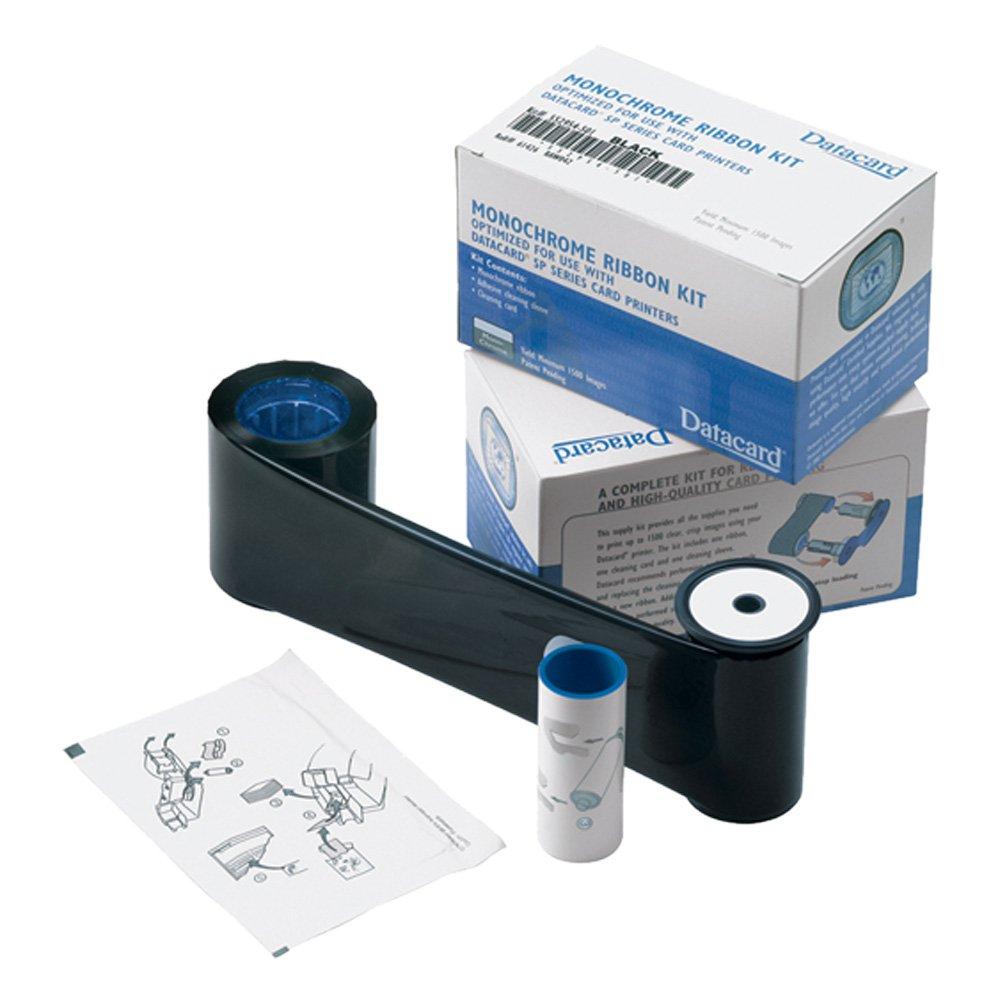 Datacard 532000-004 White Monochrome Ribbon Kit - 1,500 prints