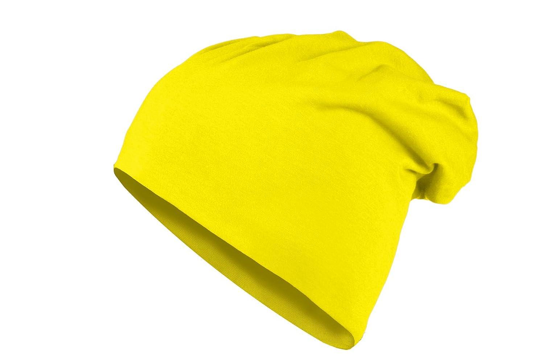 MasterDis KMA Jersey Long Beanie Mütze (Einheitsgröße, yellow)