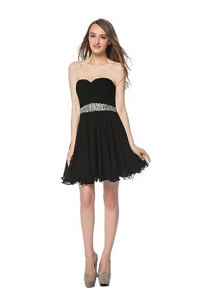 LOVIERA Women\'s Sweetheart Homecoming Dresses Short Prom Dress ...
