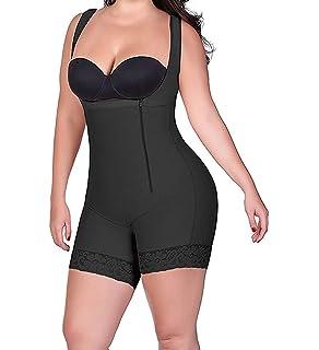 e9bd64c731 RIBIKA Bodysuit Plus Size Shapewear Women Body Shaper Waist Shapers Corsets