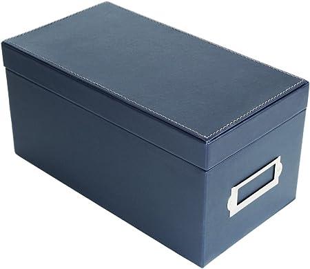 Estuche para almacenamiento de estuches para CD de Jack Cube Estuche para organizador de DVD con 50 estuches (azul marino) -MK226A: Amazon.es: Hogar