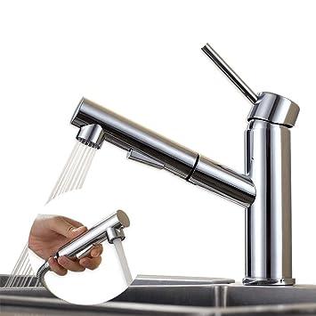 Homelody schwenkbar Wasserhahn Küche Armatur ausziehbar ...