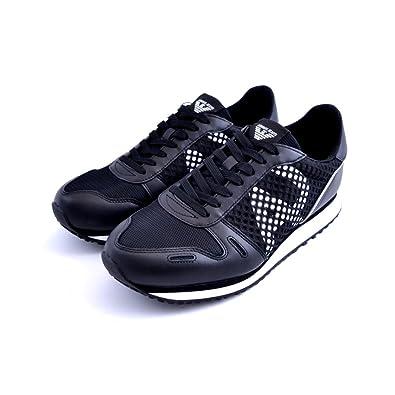 Basket, Color Noir, Marca Armani Jeans, Modelo Basket Armani Jeans  00020NERO Noir ec23b2682de9