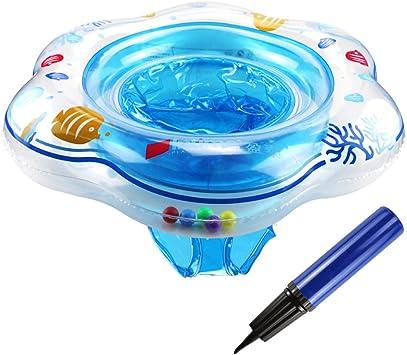 Flotador Bébé, TedGem Anillo de natación para bebé, Flotador de ...