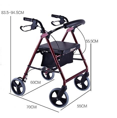 Qixian Ausili Per La Deambulazione Scooter Pieghevole Per Anziani