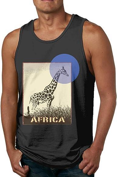 Men/'s 3D Animal Print Summer Tank Tops Casual Sleeveless Tees Gym Sports Shirts